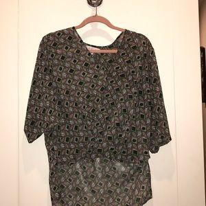 WAYF 3/4 blouse